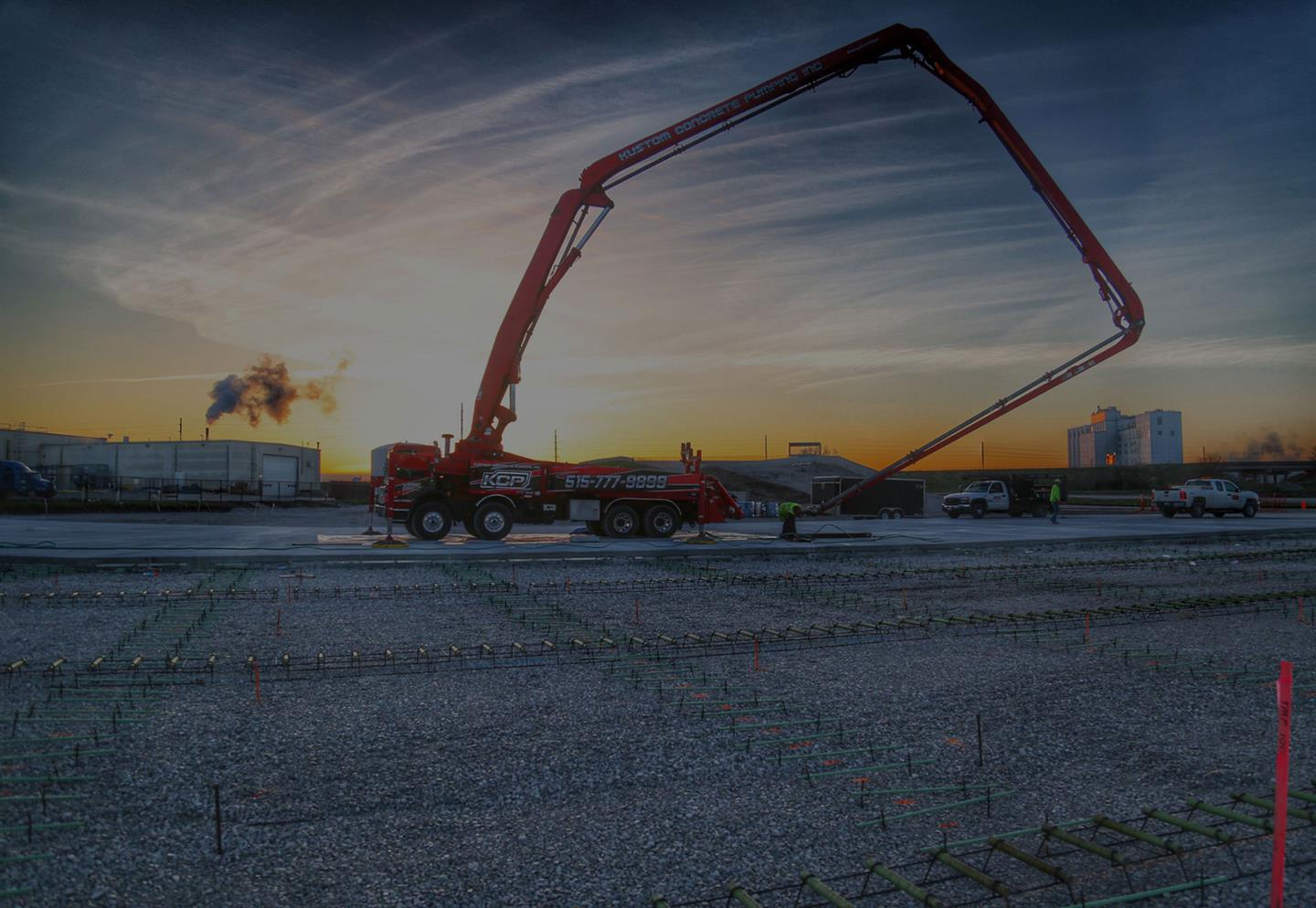 Concrete Pumping in Des Moines, IA and Omaha, NE